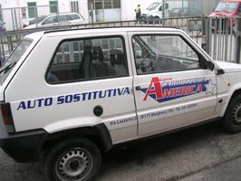 auto sostitutiva personalizzata