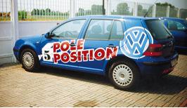 golf pole position