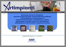 sito web installatore