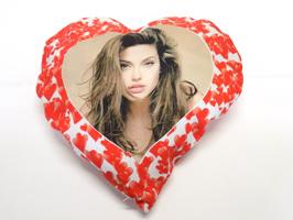 cuscino cuore personalizzabile